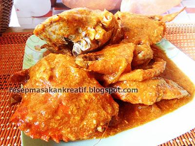 Cara Membuat Kepiting Saus Padang Resep Pedas
