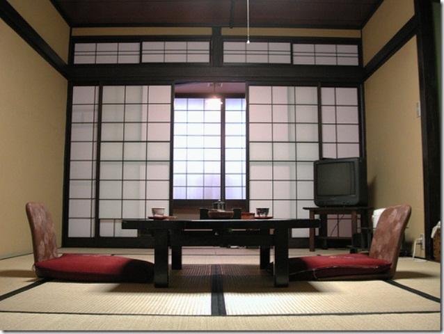 Desain Ruang Tamu Minimalis Ala Tradisional Jepang Minimalist