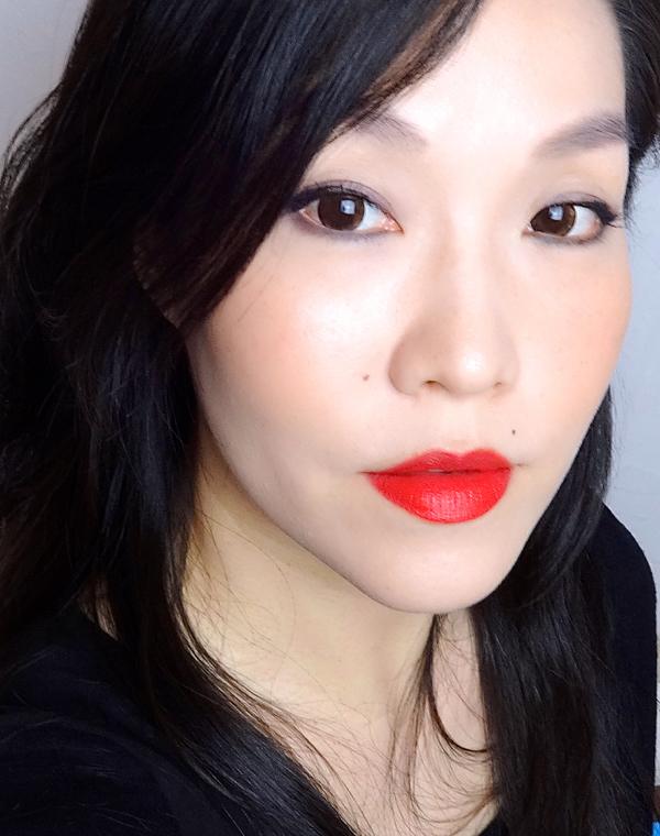 Tatcha Kyoto Red Silk Lipstick FOTD