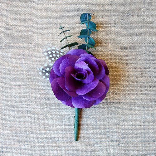 The craftinomicon diy boutonnieres diy boutonnieres as many of you know my sisters wedding is fast approaching and i am making all of the flowers out of paper today i will be sharing with solutioingenieria Image collections