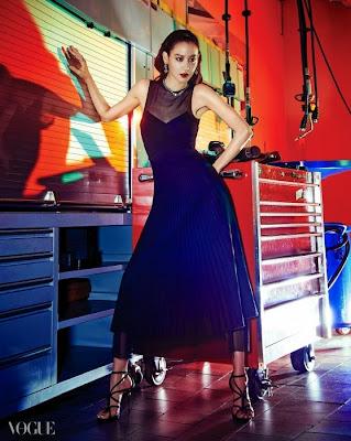 Kim Soo Hyun - Vogue Magazine May Issue 2015