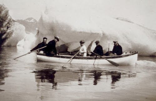 Small boat in Southeast Alaska (approximately 1930)