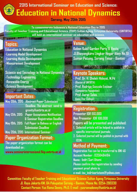 Seminar Internasional FKIP Untirta