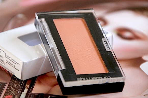 shu uemura collection maquillage automne 2012 blush apricot avis test