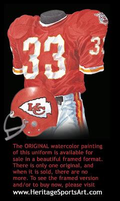 Kansas City Chiefs 1969 uniform