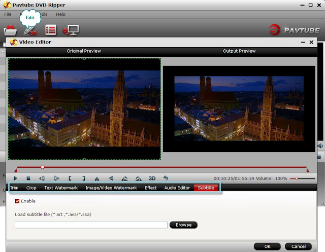 how to add srt file to mp4 movie