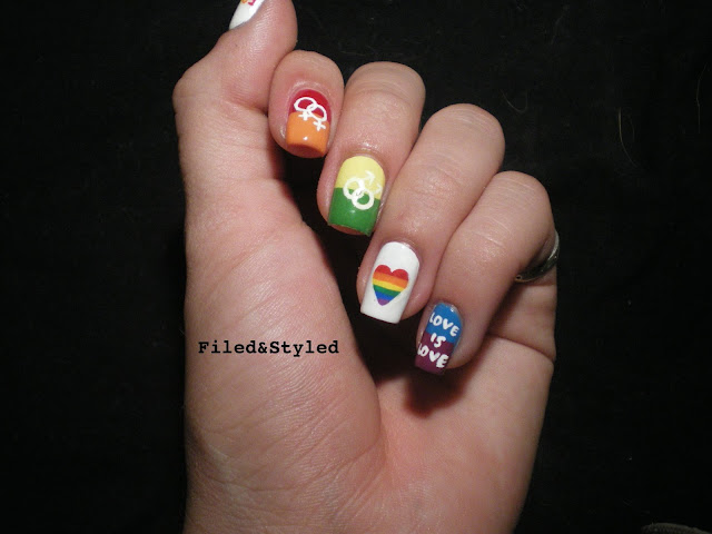 LGBT Nail Art