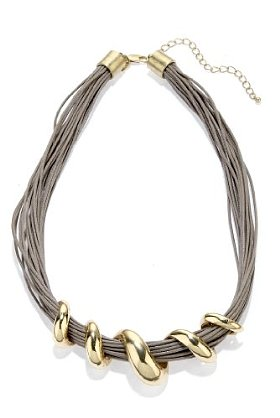 Per una twist necklace