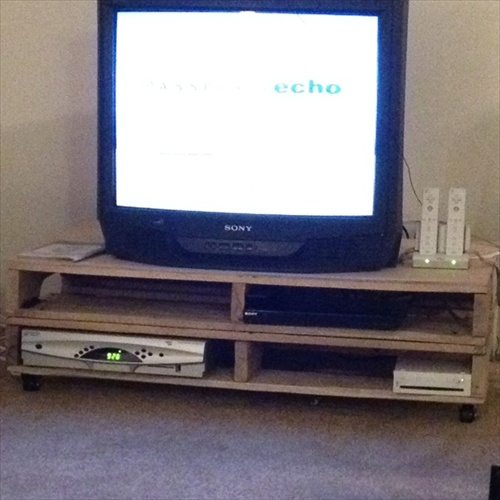 Diy pallet tv stand plans pdf woodworking for Diy tv table plans