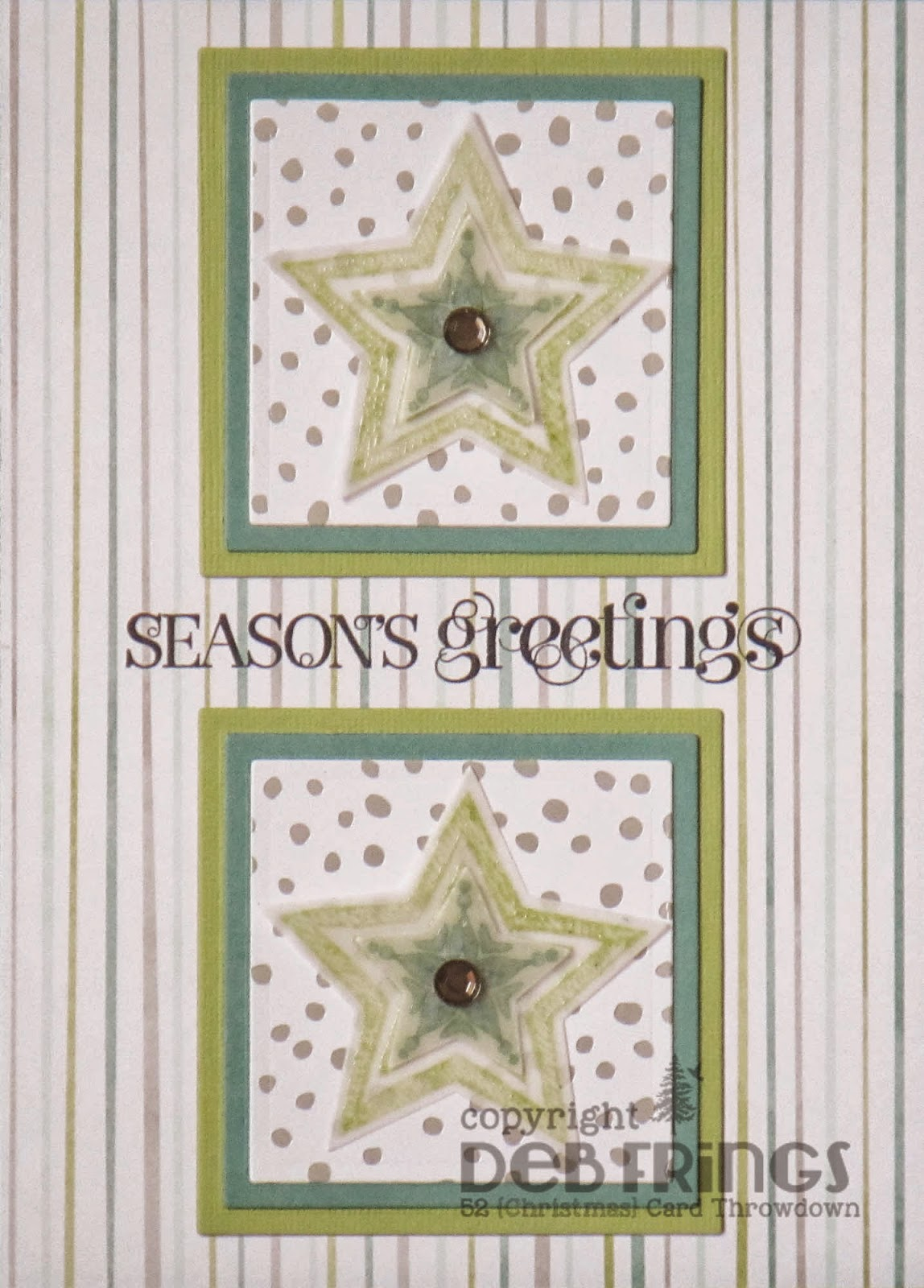 Season's Greetings - photo by Deborah Frings - Deborah's Gems
