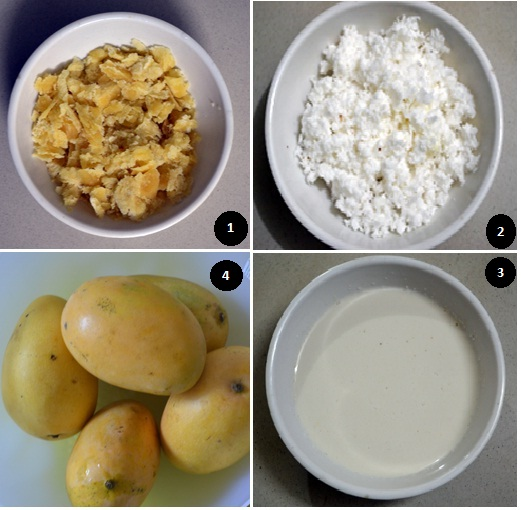 how to prepare mango pudding