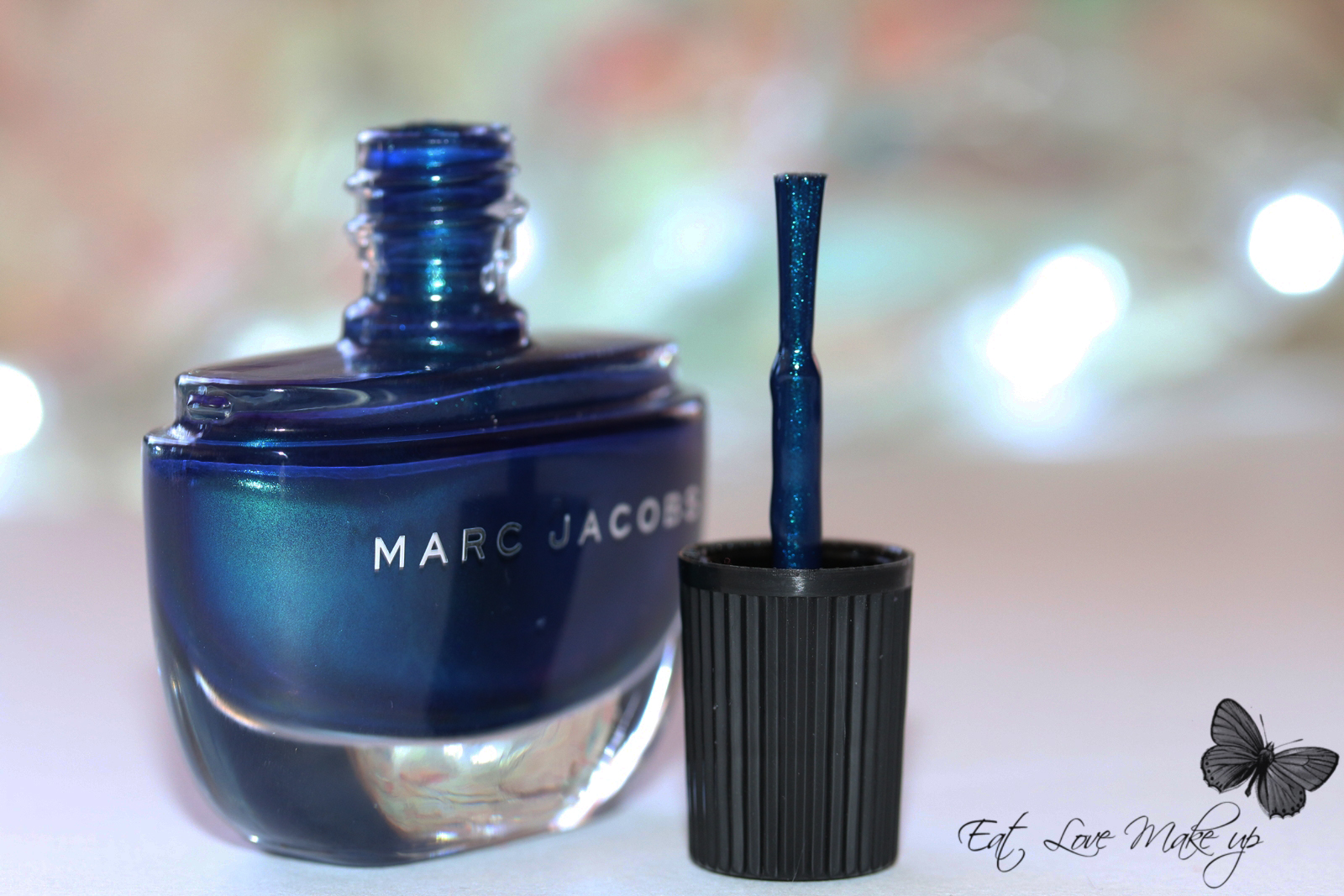 Marc Jacobs Enamored Hi-Shine Nail Lacquer 132 Blue Velvet