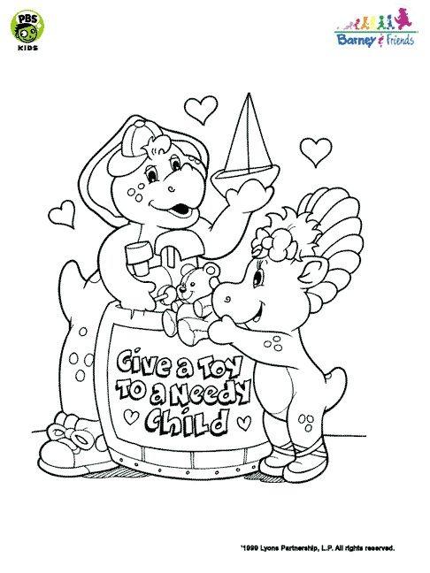 Desenho como desenhar boneco barney e amigos pintar e colorir