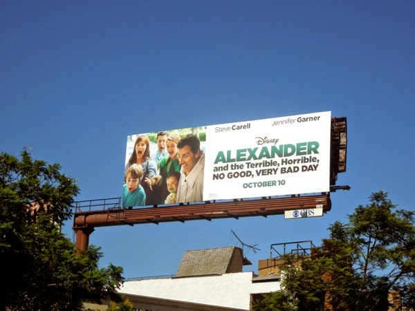 Disney Alexander movie billboard