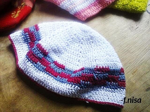 crochet kufi hat for prayer