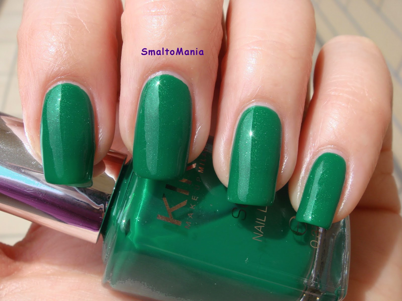 Kiko Satin n.449 Lawn Green