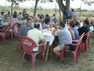 Tripulacions visitants a Bellvei.
