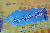 Subramanyam for sale movie audio launch-thumbnail-1