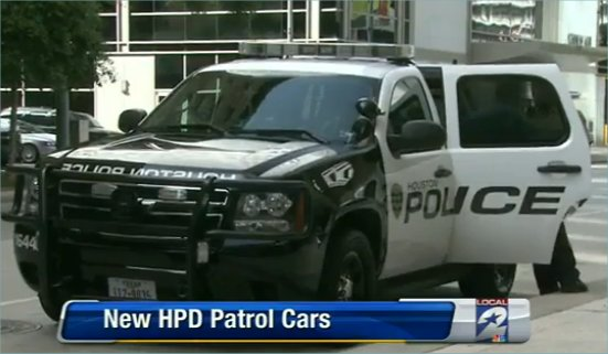 Chevy Dealers Houston >> HPD unveils black and white police cars | Houston personal injury legal news