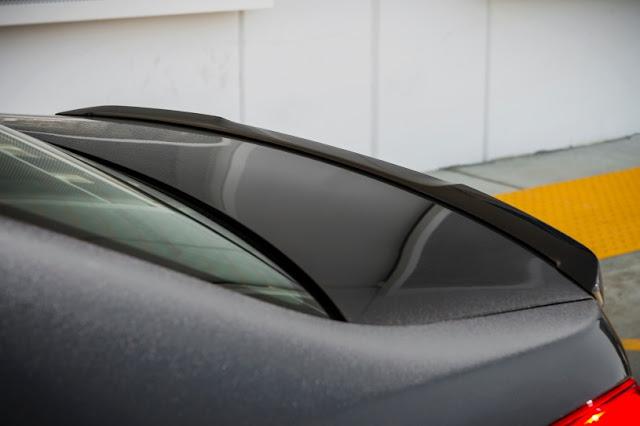 2016 New Subaru WRX STI Sport car top back view