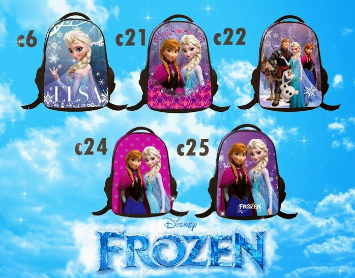 FROZEN BAGPACK NEW ARRIVAL ( 04/12/14 )