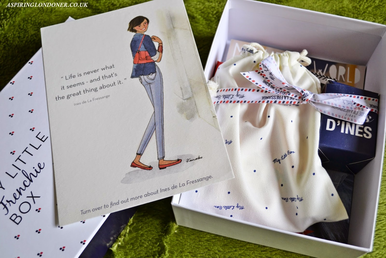 My Little Frenchie Box February 2015 Review - Aspiring Londoner