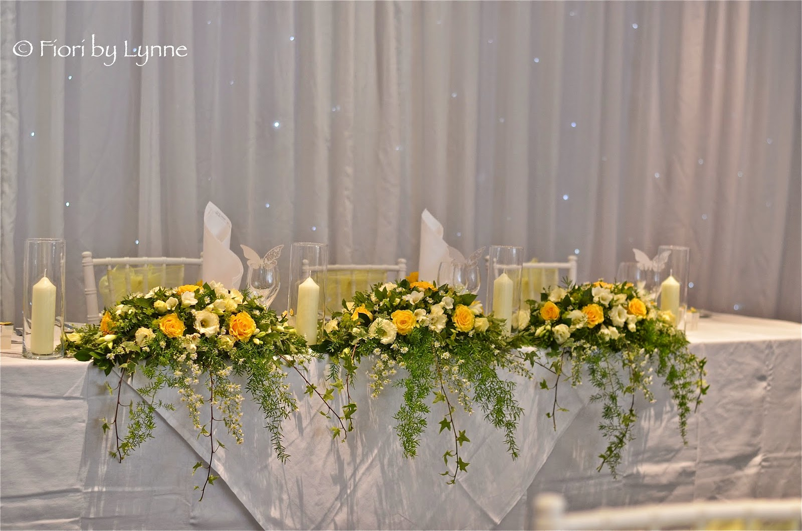 Wedding Flowers Blog Lynnes Yellow Lime And White Wedding Flowers
