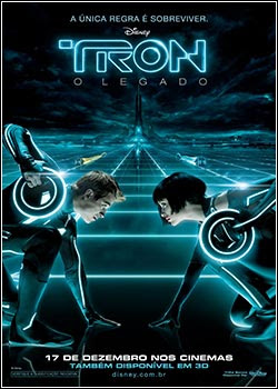 Download - TRON - O Legado DVDRip - AVI - Dublado