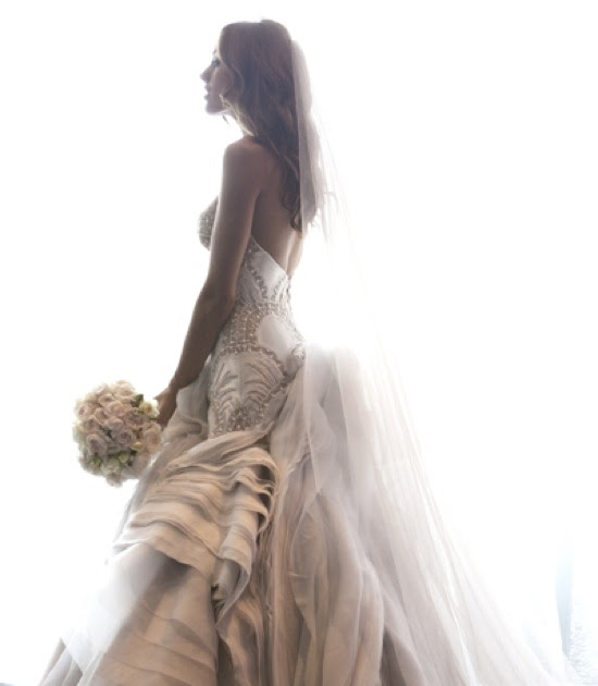J Aton Couture Hand Made Rebecca Twigley Wedding Dress: Rich Girls.: Going To The Chapel