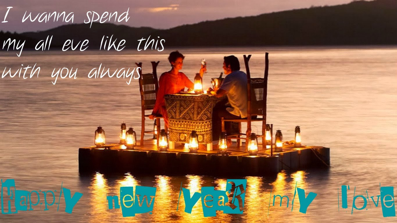 Romantic New Year Greetings for Wife 2016