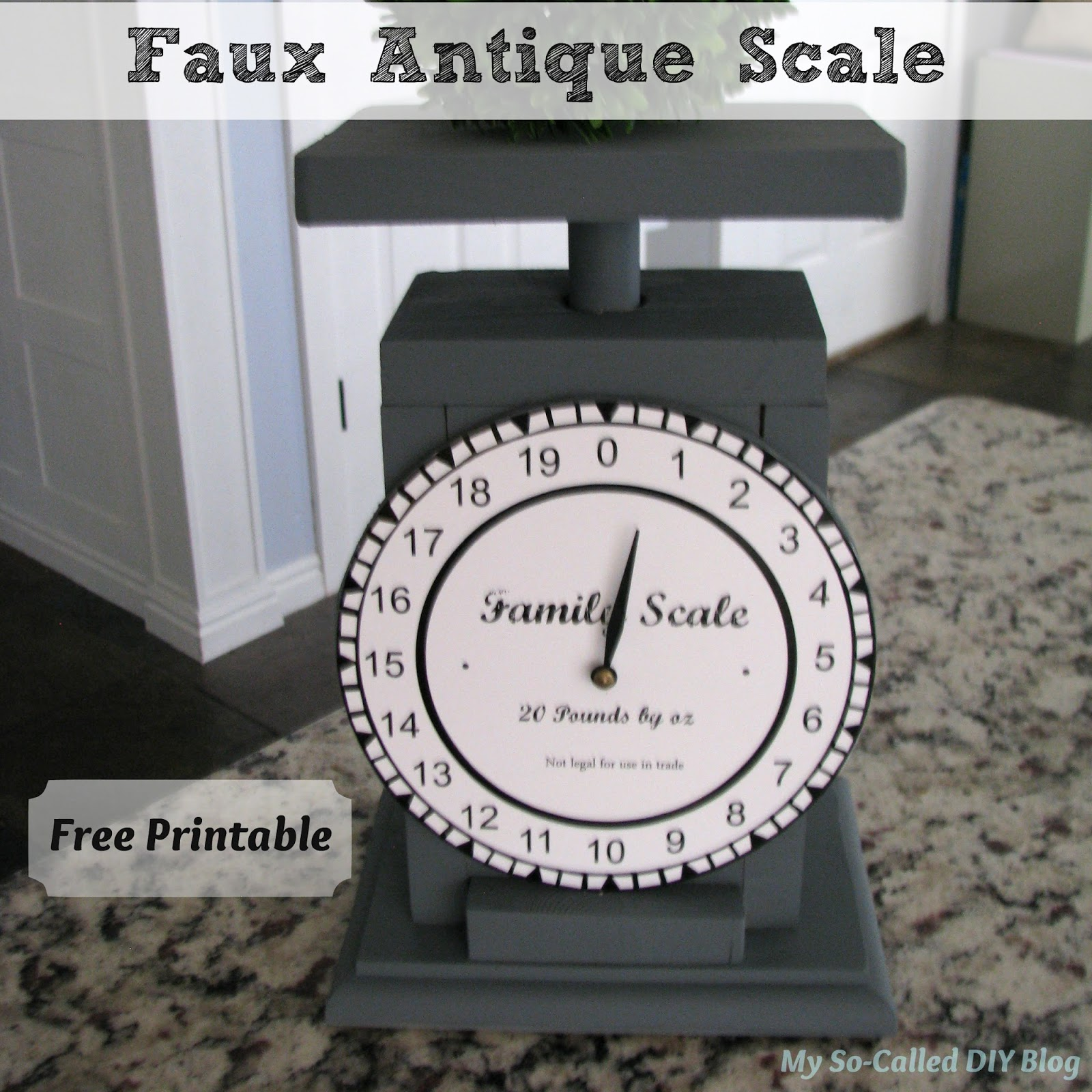 photograph relating to Scales Printable known as My Hence-Identified as Do-it-yourself Web site: Phony Antique Scale + No cost Printable