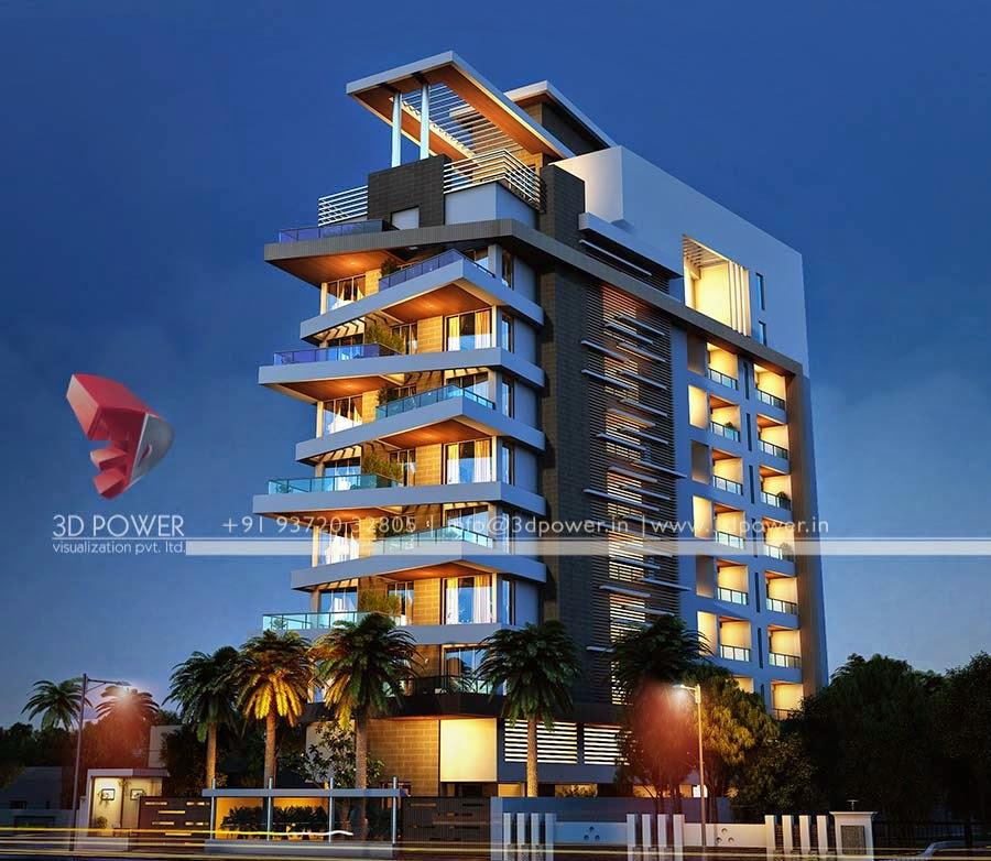 3d Apartment Design Exterior