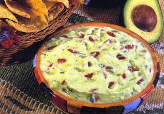 Picture of Fast Guacamole on a serving bowl