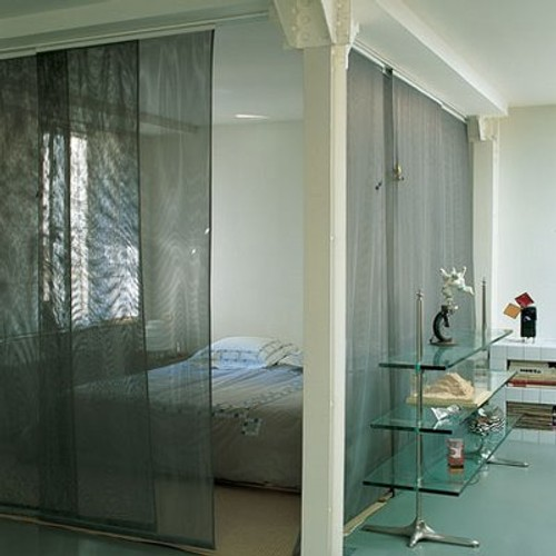 Senyoreta canyella ideas para separar ambientes en mini pisos - Paneles japoneses para separar ambientes ...