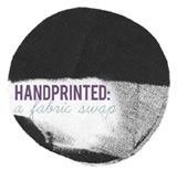 onegirl handprinted: a fabric swap
