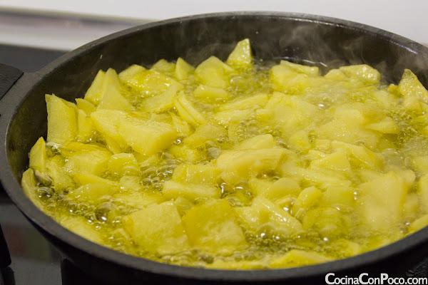 Tortilla de Patatas - Receta paso a paso