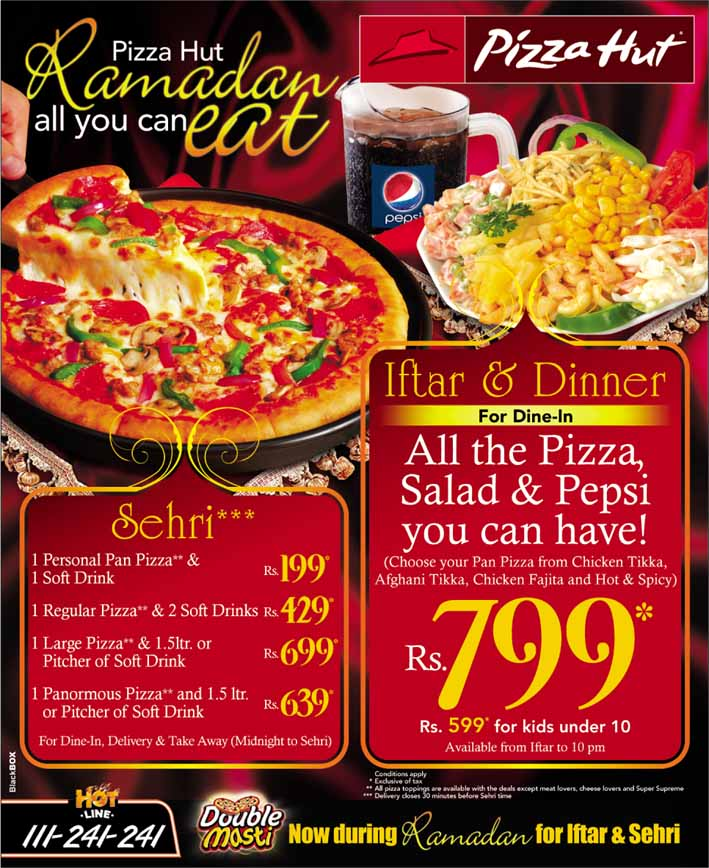 Pizza hut all you can eat coupons