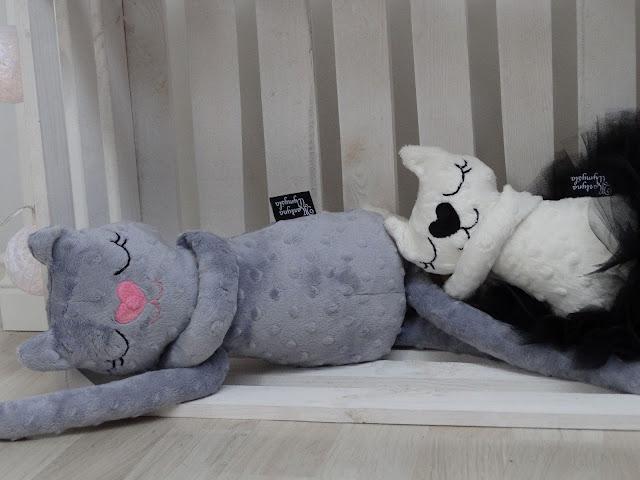 kotek przytulanka handmade