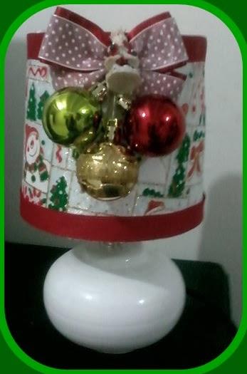 Manualidades el colibri como decorar lampara de navidad - Manualidades para decorar en navidad ...