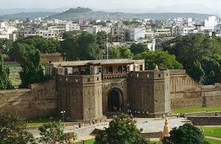 Shaniwarwada Fort in Pune, Maharastra