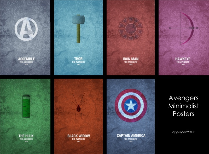 My Sims 3 Blog Avengers Minimalist Posters By Pepper090889