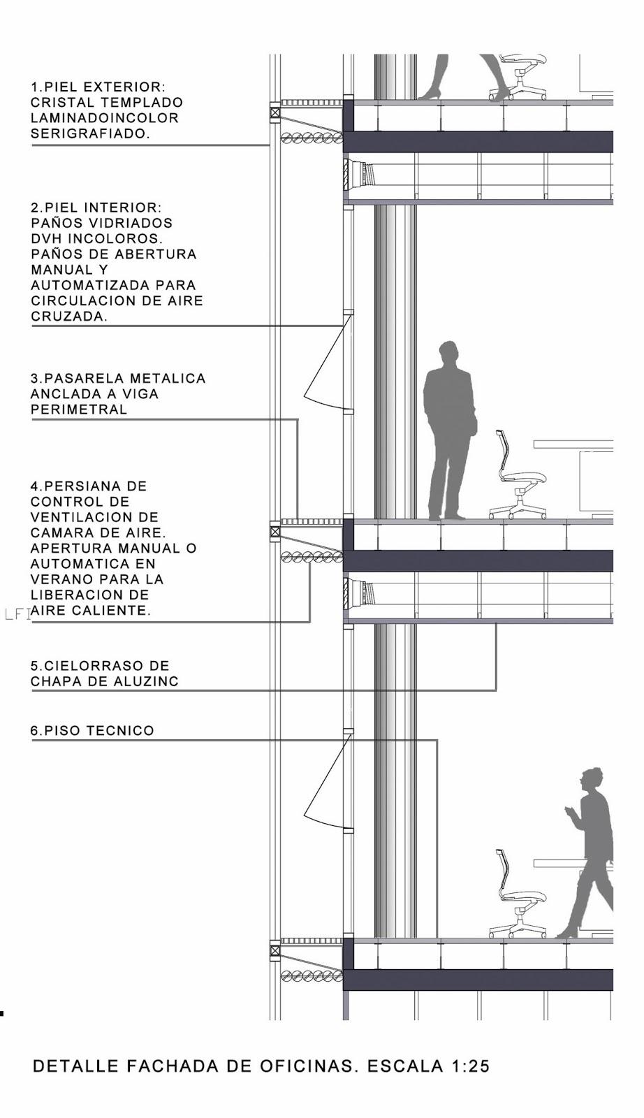 Obas arquitectos concursos for Piso tecnico detalle