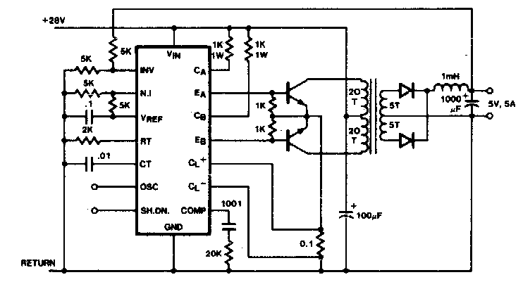 Electronic Circuit Project of