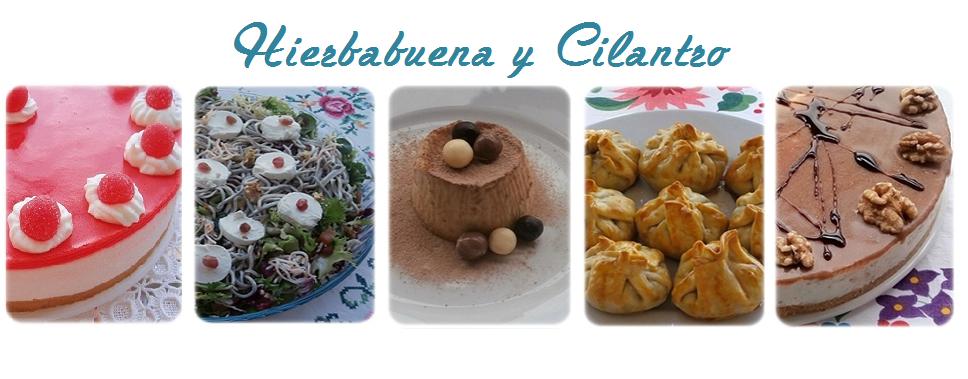 Hierbabuena y Cilantro