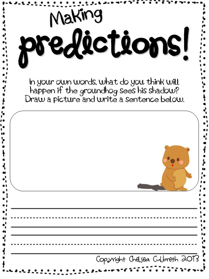 Prediction Worksheet – Prediction Worksheet