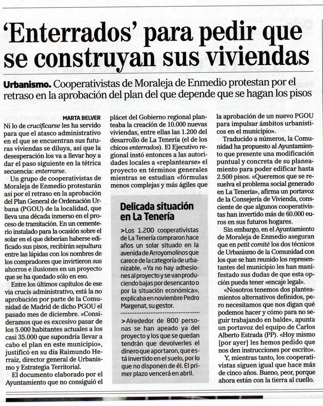 Vecinos de la tener a febrero 2011 - Casas en moraleja de enmedio ...