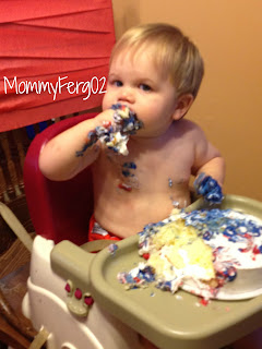 Messy Smash Cake Fun!
