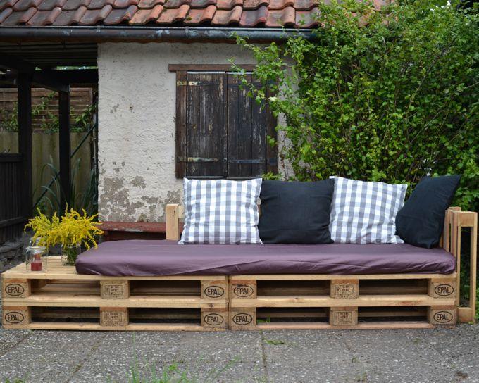 Falls Ihr auch ein Palettensofa bauen wollt, kommt hier die Anleitung: