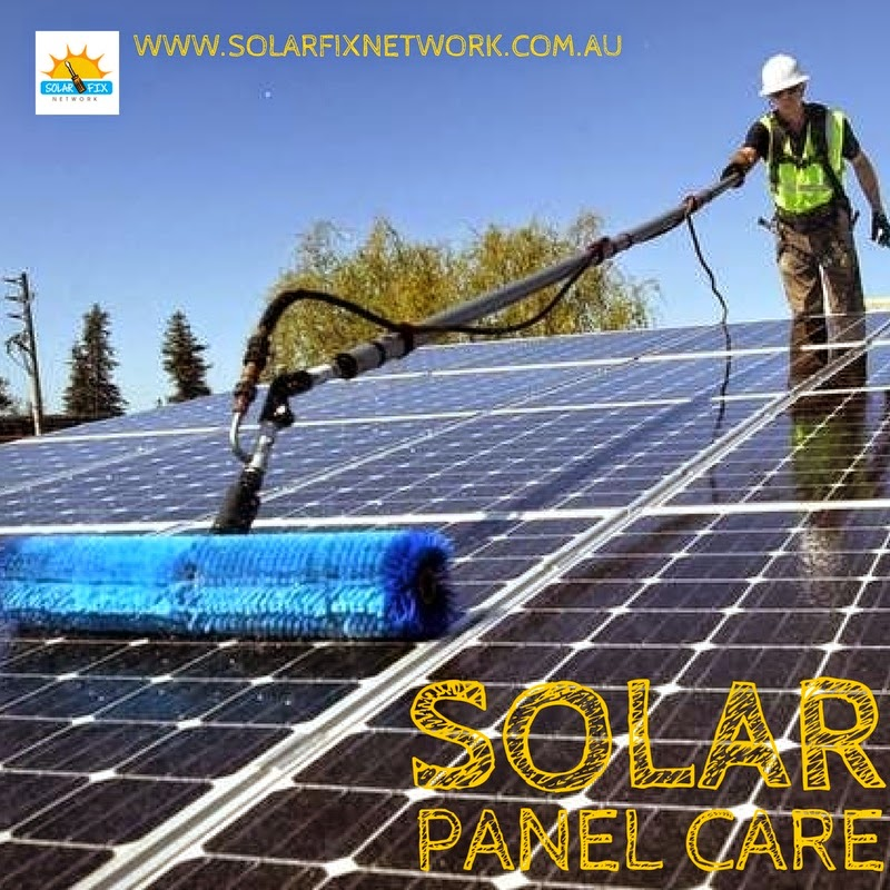 Solar Fix Network offer a full range of solar panel maintenance services