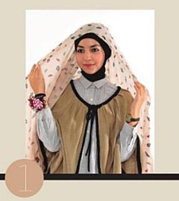 Fashionholic Tutorial Tren Gaya Hijab Untuk Kuliah